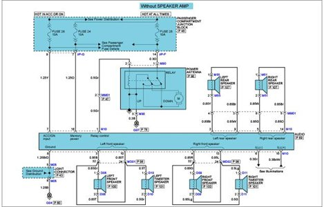 2006 Hyundai Accent Wiring Diagram