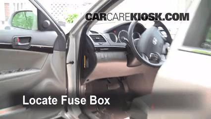 2006 Sonata Fuse Box