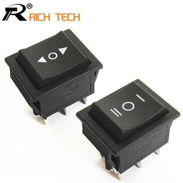 20pcs 2 Way Self Reset Toggle Switch 3files Cooper 6 Feet Power
