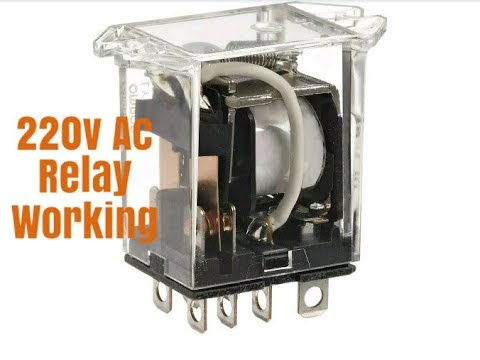 220v Ac Relay Working In Hindi
