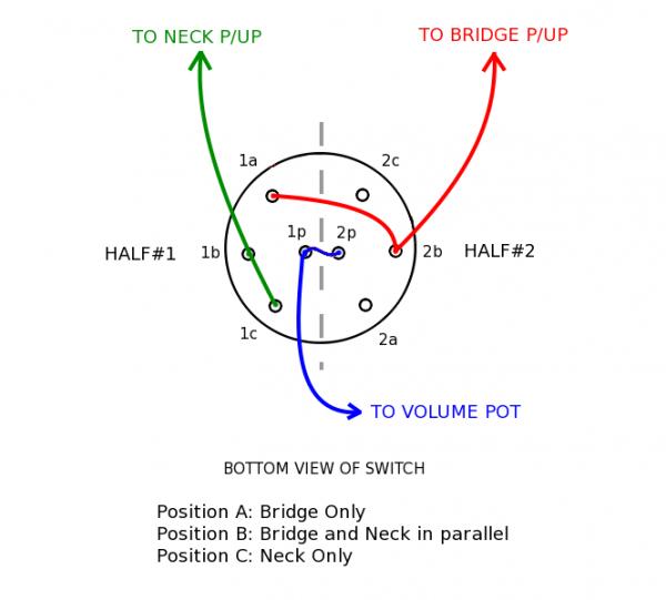 2 Pole 3 Way Switch Diagram