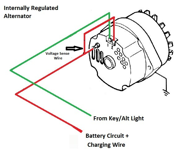 Gm 1 Wire Alternator Diagram