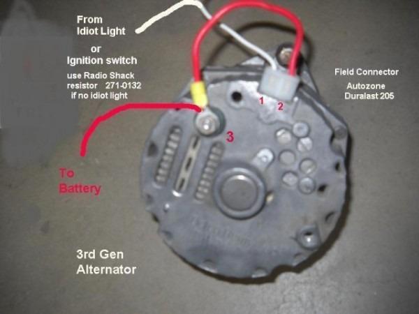 Pajero Alternator Wiring Diagram