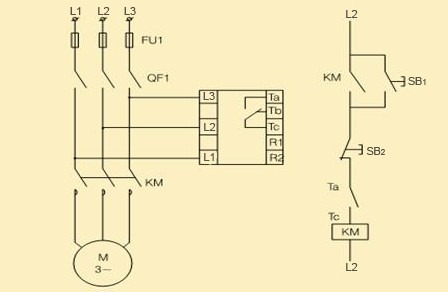 3 Phase Motor Control Relay