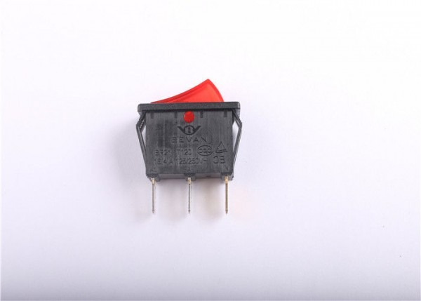 3 Way Illuminated Rocker Switch Heat Resistant With Silver Contact
