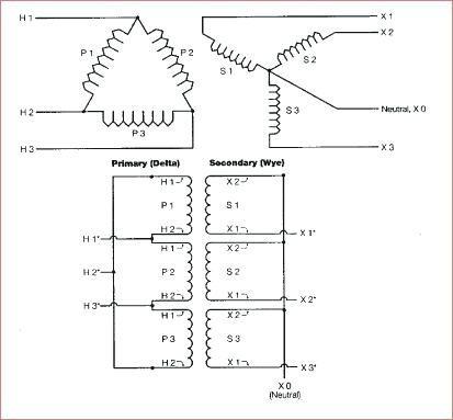 480v To 240v Single Phase Transformer Wiring
