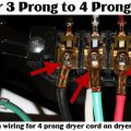 How To Wire A 4 Prong Dryer Cord