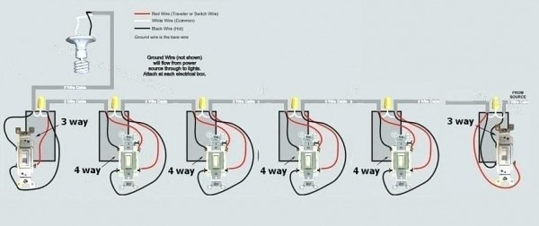 6 Way Light Switch Wiring Diagram