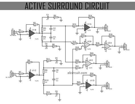 Active Surround Sound Circuit In 2019