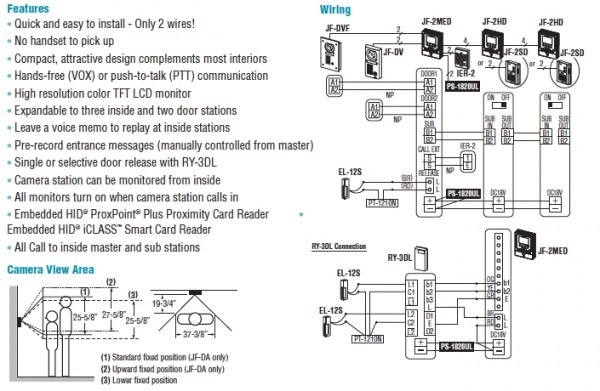 Aiphone Lef 3 Wiring Diagram