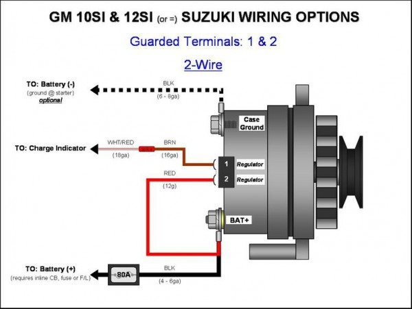 Alternator Diagram Wiring