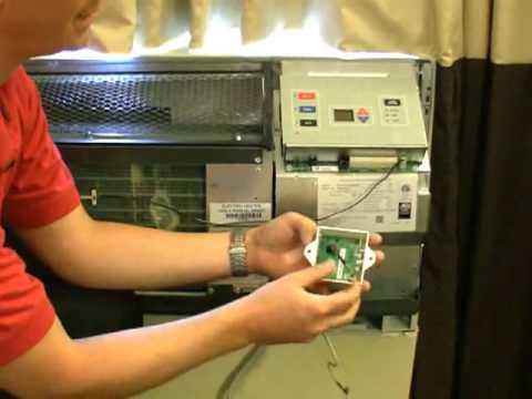 Amana Ptac Digismart Antenna Installation Video