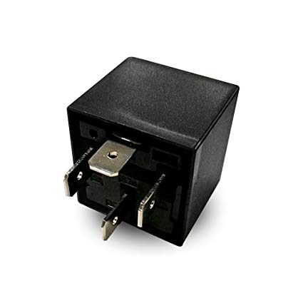 Amazon Com  12 Volt 4 Pin Spdt Automotive Relay 30a 40a No 12v (40