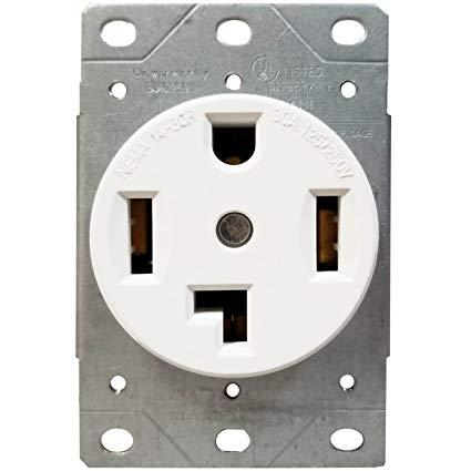 Amazon Com  Enerlites 30 Amp Electrical Dryer Outlet