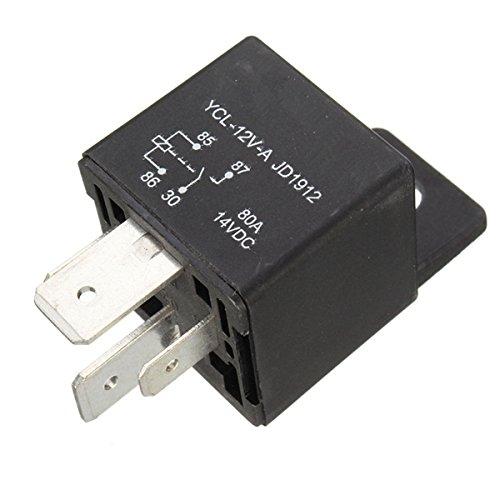 Amazon Com  Sellify 4 Pin Relay Relays Heavy 12v 80a 80 Amp Spst