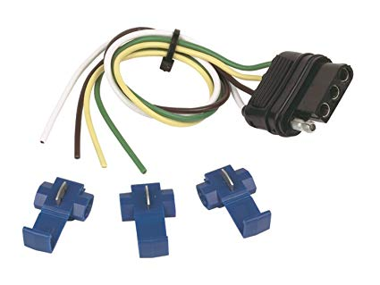 Amazon Com  Trailer Wiring Connector Kit; 4 Wire Flat; 12 Inch