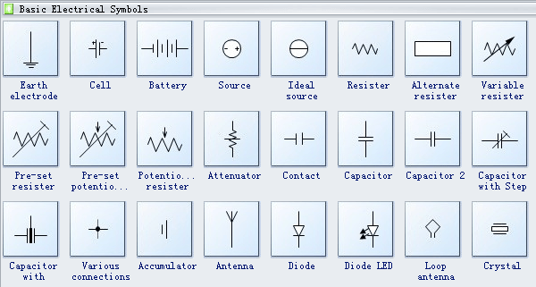 Basic Electrical Wiring Diagram Symbols
