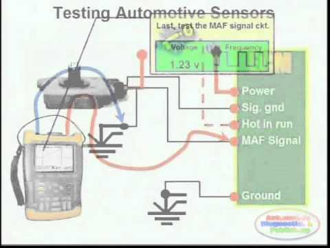 Basic Sensor Testing & Wiring Diagram