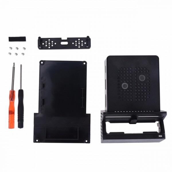 Black Portable Cooling Fan Dock Stand Base Case Box For Nintendo