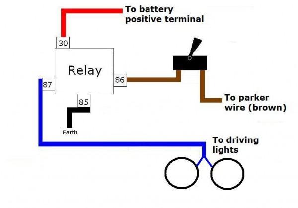 Light Relay Diagram