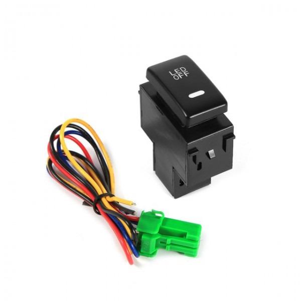 Car Styling12v Car Fog Light Switch Fireproof Daytime Running