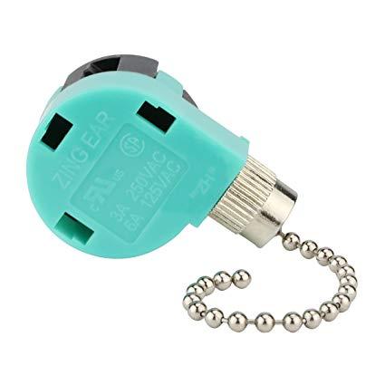 Ceiling Fan Switch 3 Speed 4 Wire Ze