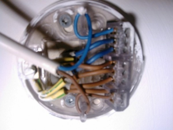 Ceiling Light Wiring