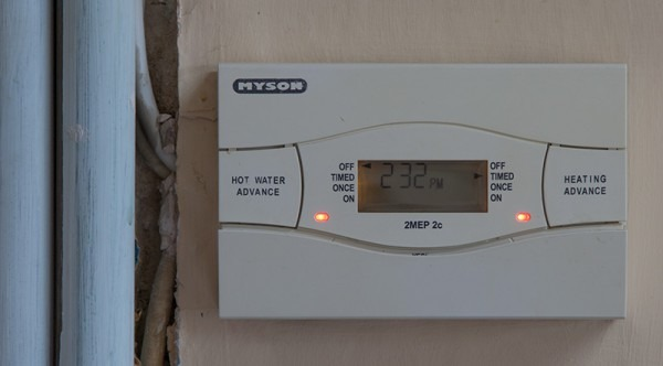 Central Heating Thermostat Wiring