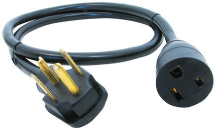 Century Wire And Cable Dryer Plug To Welder Plug Adapter Cord