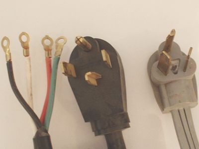 Changing Dryer Cords From 4