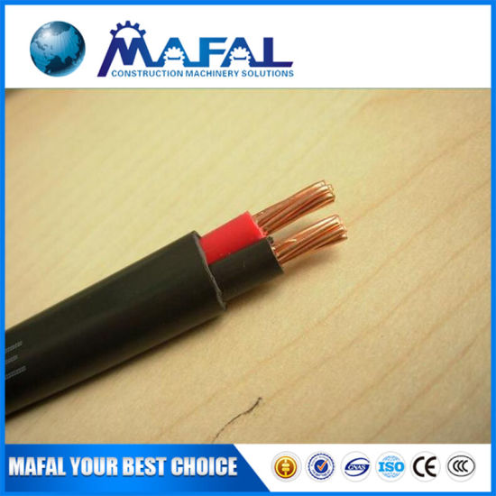China Cable Awg Thhn   8 6 4 2 1 Electric Copper Cable Wire