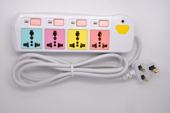 China Movable Multi Function Colorful Extension Electrical