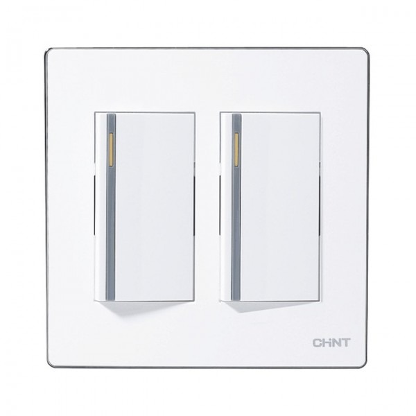Chint Light Switches 120 Type Electrical Light Switches Two Gang