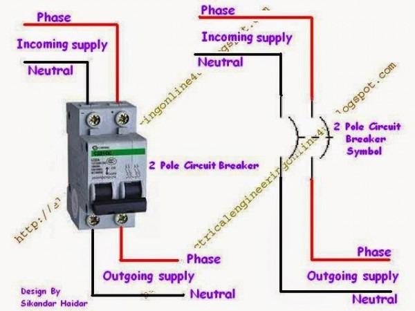 Circuit Breakers Wiring Schematic