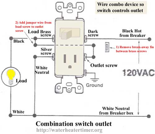 Combo Switch Receptacle