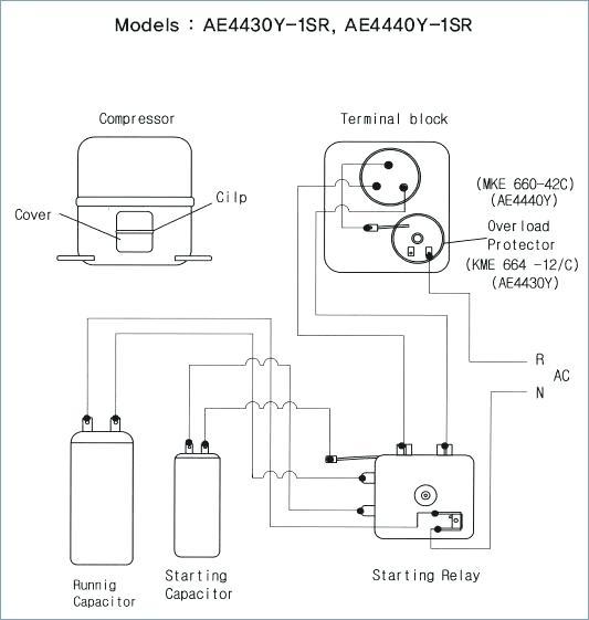 Compressor Current Relay Wiring Diagram