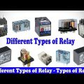Different Types Of Electrical Relays