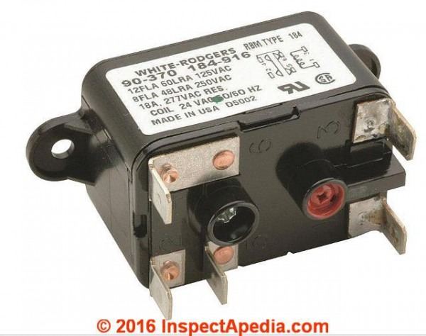 Contactors & Relay Switches, Chattering Noise Air Conditioner Heat