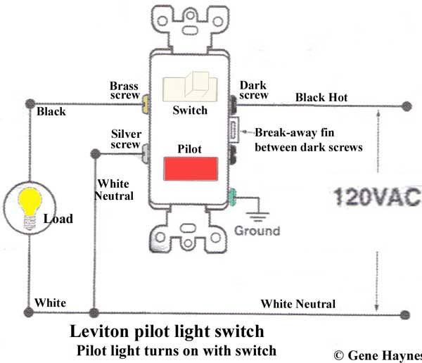 Cooper 277 Pilot Light Switch