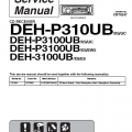 Deh P3100ub Wiring Diagram