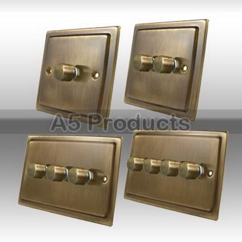 Details About Trailing Edge Mains Led Dimmer Light Switch 250w