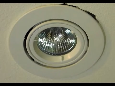 Diy How To Change A 12v Down Light Halogen Globe Twist Style