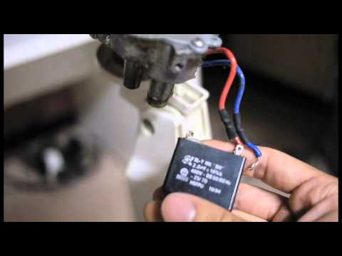 Electric Fan Repair  Blades Don't Spin