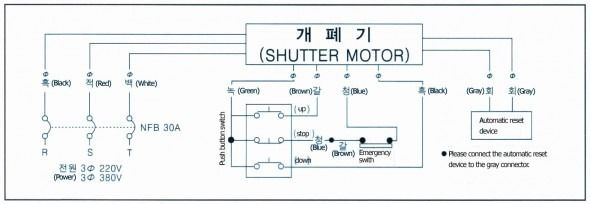 Electric Roller Shutter Wiring Diagram