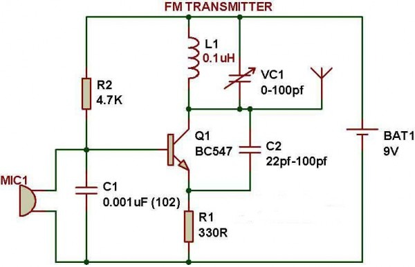 Electronics Projects Circuit Diagram Circuit For Electronics
