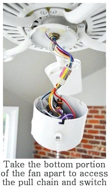 Exotic Fan Light Switch Fix Your Ceiling Fan Hampton Bay Fan Light