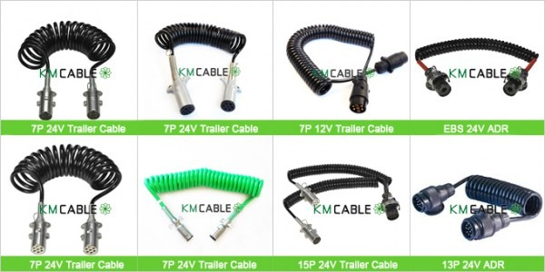 Extension Wiring Loop With 2 Trailer Ends 5 Contact Truck