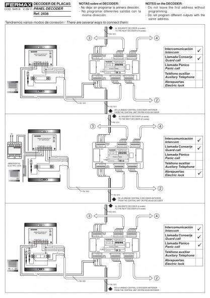 Fermax Cityline Wiring Diagram