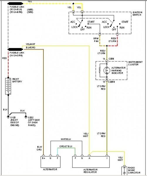 7 3 Alternator Wiring Diagram