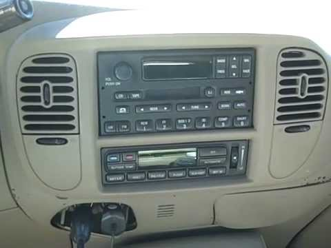 Ford Expedition Remove Radio & Poor Reception Repair